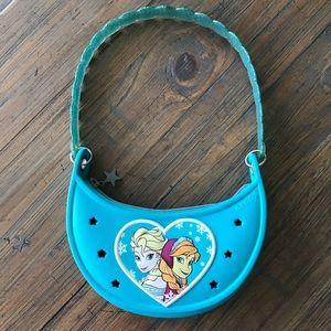 Crocs Frozen Estrella purse with Jibbitz holes